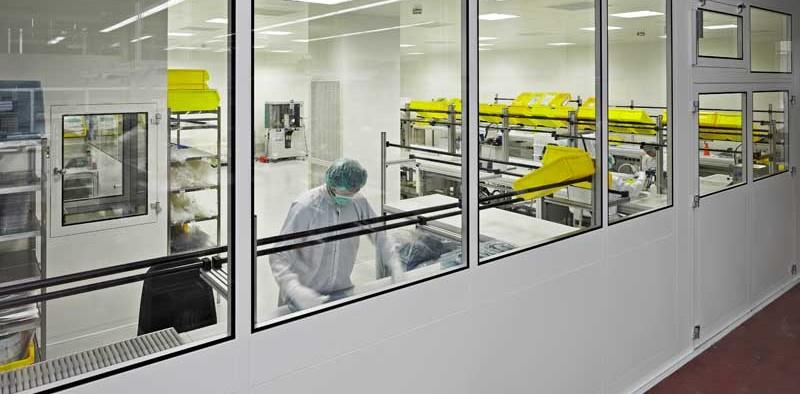 Reinraum / Gesundheitswesen / Laborbau